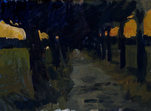viale Ten paintings a day