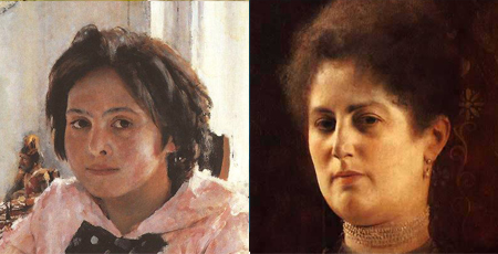 serov Lighting the model in portraits