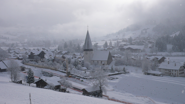 The village of Saanen.