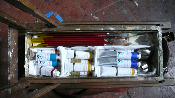 paintbox Myanmar preparations