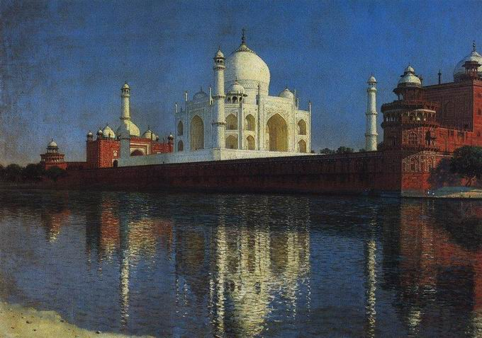 taj mahal The great Russian landscape painters