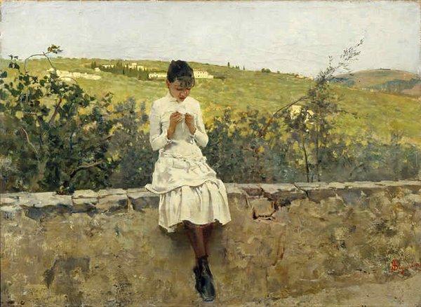 Sulle Colline di Settignano, 1885