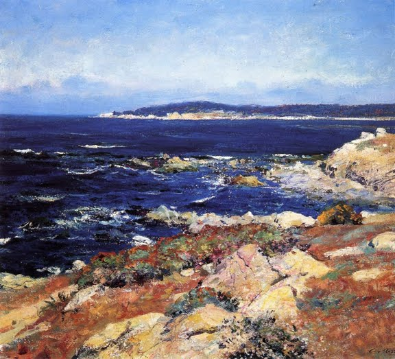 Carmel Seascape. 21 x 24 inches, 1918.