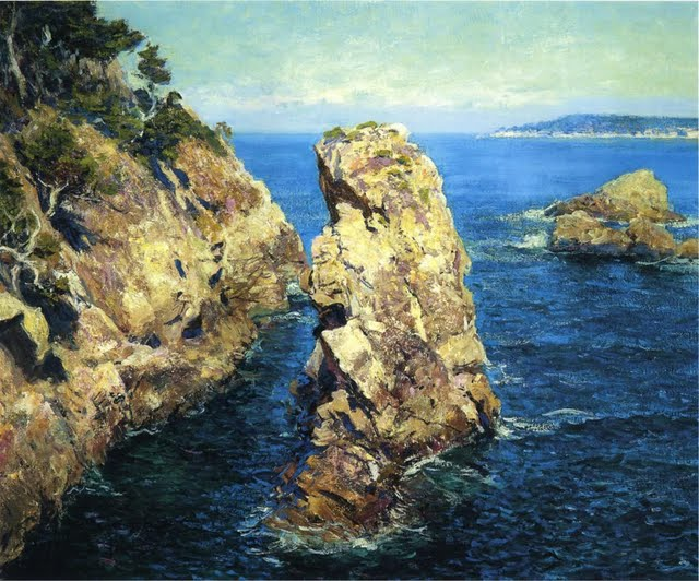 Rose Point Lobos 1918 The Californian Plein air School