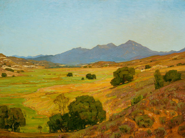 A Clear Day. 30 x 40 inches, 1903