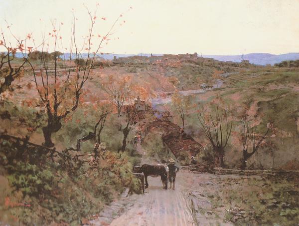 Paesaggio Toscano, 1875