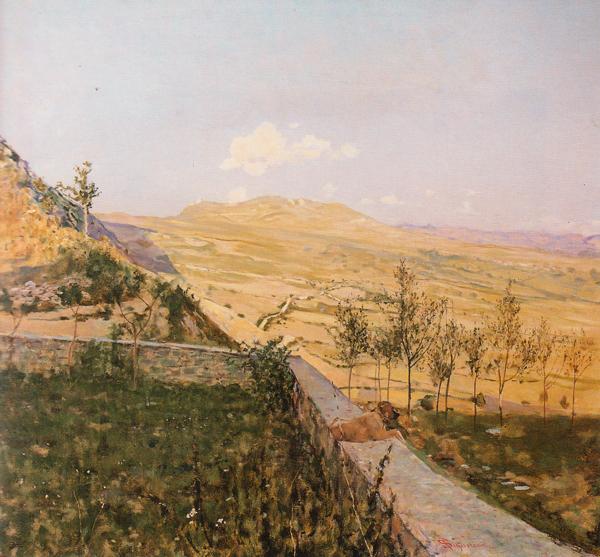 Fine d'agosto a Pietramala, 1889