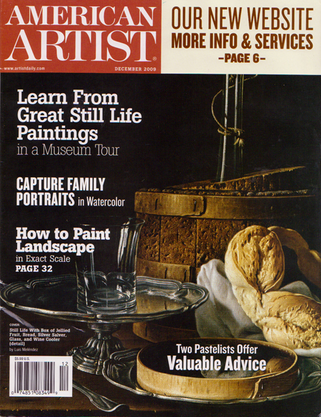 americanartist American Artist Article