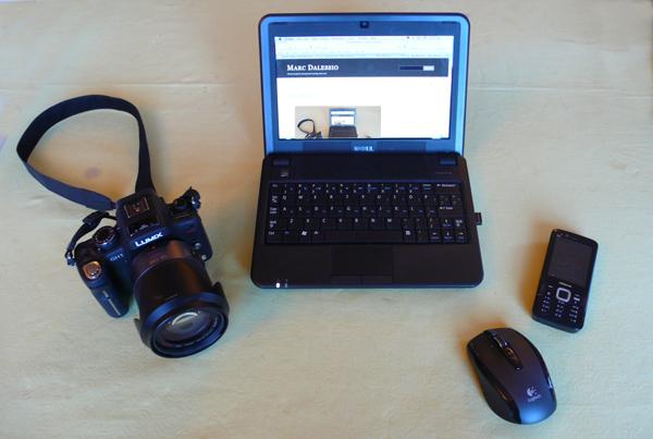 My mobile blogging set-up.