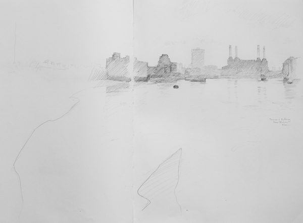 battersea Landscape Drawings