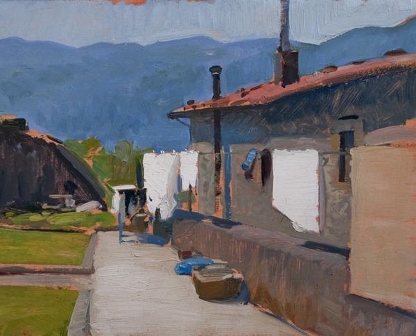 benabbio Landscape Painting in Tuscany