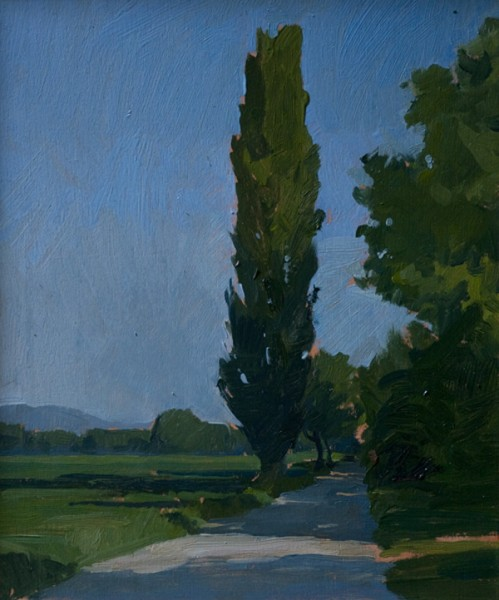 poplar 499x600 Castello di Reschio Paintings