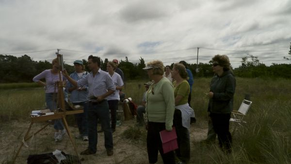 north haven One Day Plein Air Workshop in Sag Harbor
