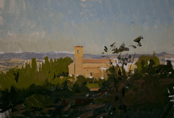 convento dell osservanza Recent Italian Plein Air Work