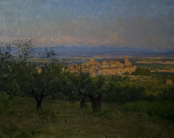 gualdo cattaneo Recent Italian Plein Air Work