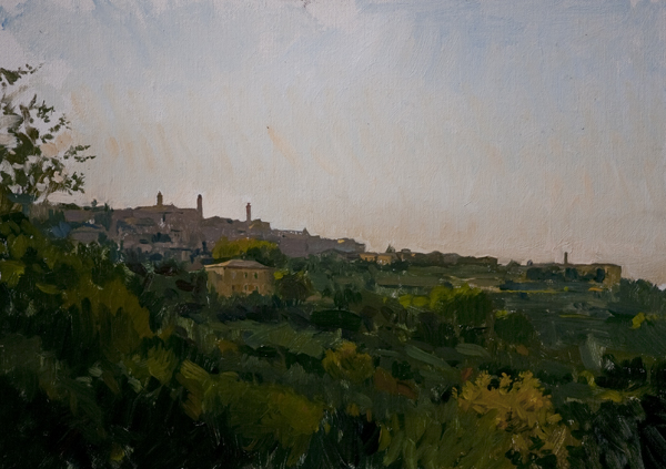 montalcino Recent Italian Plein Air Work