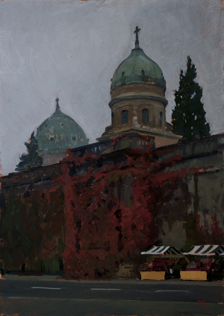 Mirogoj 1 Zagreb Sketches