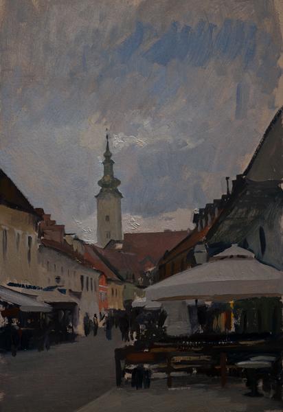 Tkalciceva Zagreb Sketches
