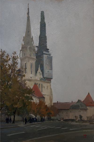zagreb cathedral 1 Zagreb Sketches