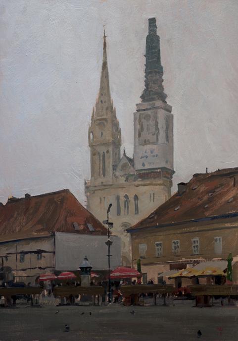 zagreb cathedral 21 Zagreb Sketches