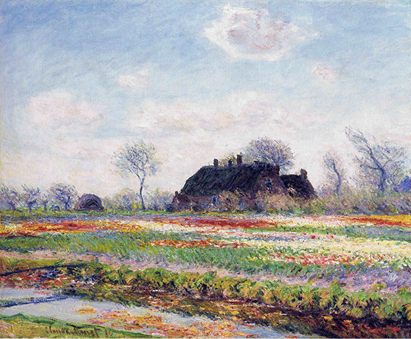 monet sassenheim Blossoms and Tulips