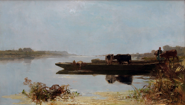 Jacob Maris. The Ferry