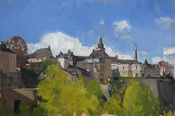 Luxembourg More Benelux Sketches