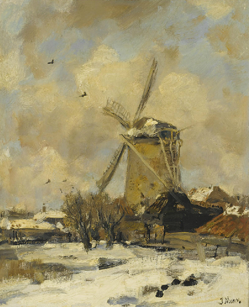 windmill snow Holland: The Local Talent
