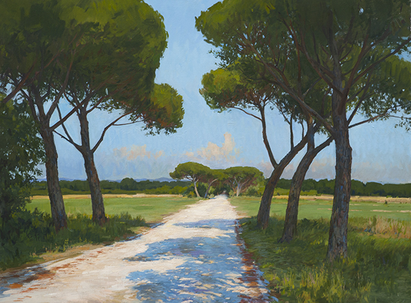 bolgheri road Recent Studio Landscapes