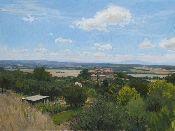 umbria Recent Studio Landscapes