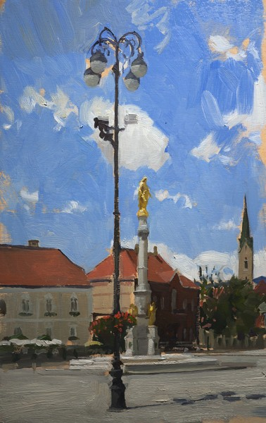 statue 378x600 July in Zagreb