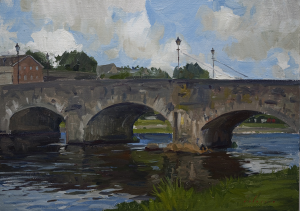 Landscape Painting of Enniscorthy