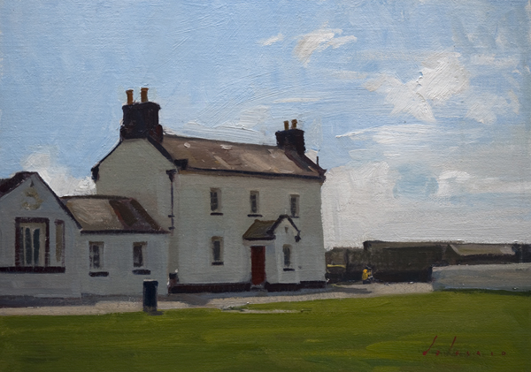 Landscape Painting, Hook Head, Ireland