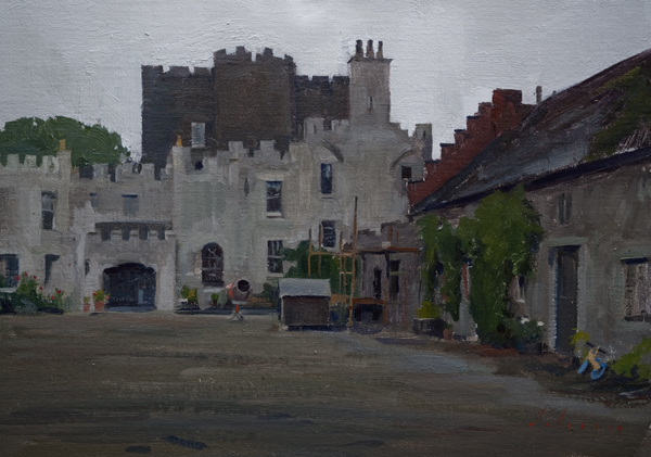 Huntington Castle Painting
