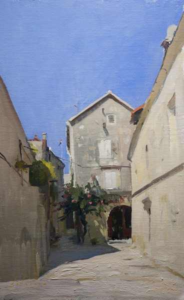 korcula street 368x600 The Dalmatian Coast