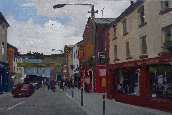 Cityscape of Wexford, Ireland