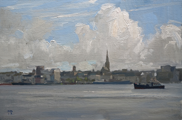 Landscape Painting of Wexford, Ireland