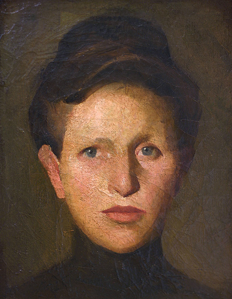 Portrait of the Artist's Sister. 1907