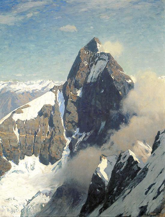 Eugen Felix Prosper Bracht. The Matterhorn.