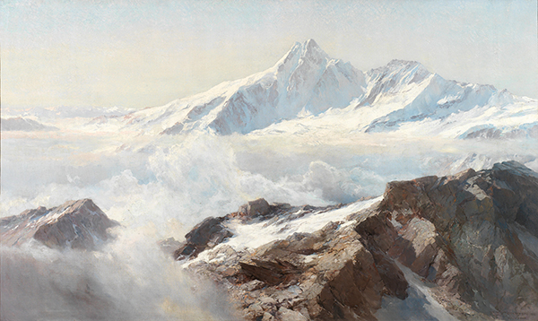 Edward Theodore Compton. Grossglockner.