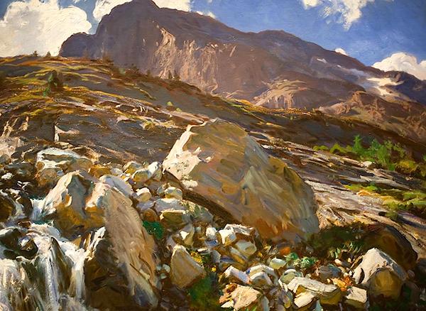 John Singer Sargent 1856 1925 Simplon Pass Alpine Inspiration