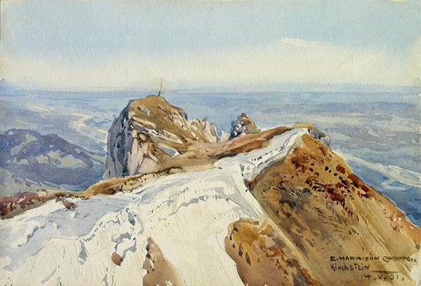 Kirchstein von Edward Harrison Compton Alpine Inspiration