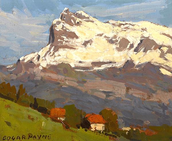 Edgar Payne. Saint Gervais.