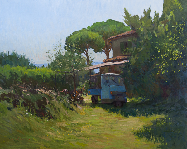 Farmhouse in Chianti Recent Studio Landscapes