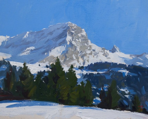 Muveran 600x480 Plein Air Alpine Sketches