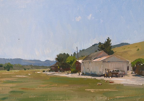 palo corona Carmel Plein Air Paintings