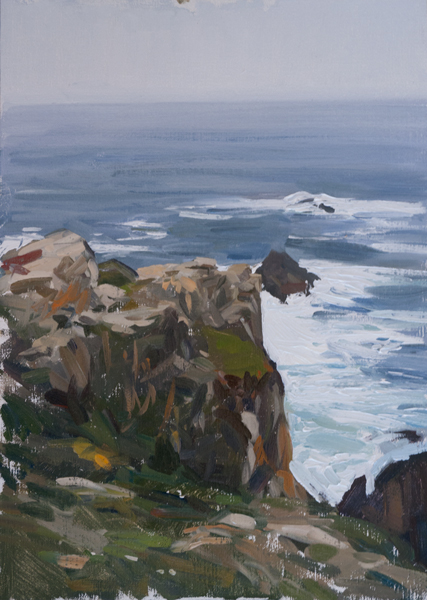 point lobos 2 Carmel Plein Air Paintings