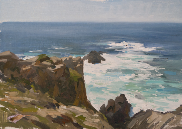 point lobos 3 Carmel Plein Air Paintings