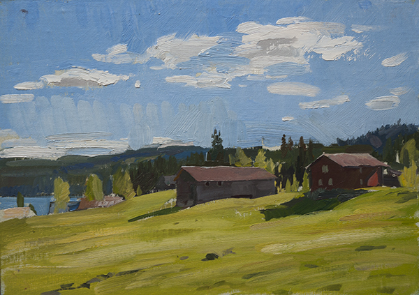 farm at nyland Telemark Sketches