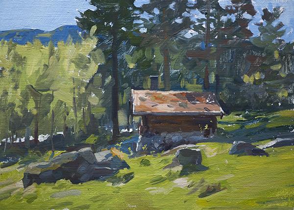 Hut in Telemark - Telemark Sketches
